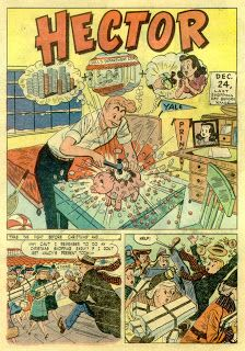 Santas Working Overtime: Hector's Xmas Shopping Misadventure (Calling All Boys 1948)