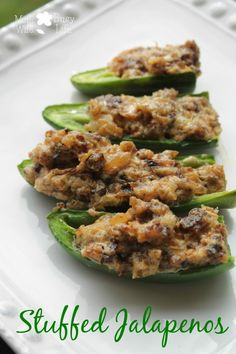 Delicious Appetizer this holiday season! Stuffed Jalapenos #Recipe