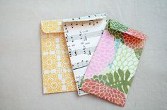 The Creative Place: DIY  Envelopes for crafting, cash, junk journals/smash books.