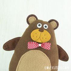 TUTORIAL muñeco oso