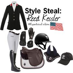 """Style Steal: Reed Kessler"" by equestrianfashionofficial on Polyvore"
