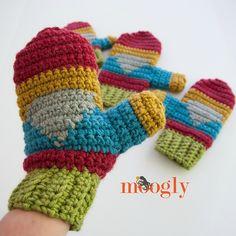 Free Crochet Pattern: Hello Gnome Mittens – Make It Crochet