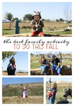 fall family outing |