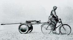 z- Bicycle Powered Artrillery Warfare, II [Panzerbüchse 38 (PzB 38- Tank Rifle)]