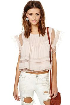 Pleat Nothings Top