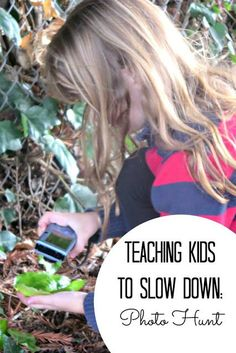 Slow Down and Observe with a Spring Photo Hunt