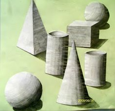 Shading 3D forms