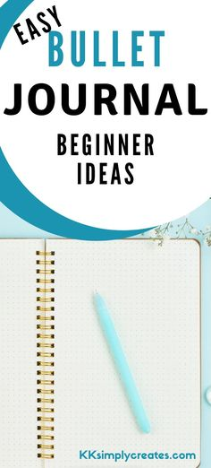 Easy bullet journal Ideas for beginners.  Get started now with these simple tips and tricks so you can create beautiful bullet journal layouts now.  Bullet Journal Hacks, bullet journal, bullet journal ideas, bullet journal inspiration, bullet journal layout, bullet journal ideas page, bullet journal doodles, bullet journal weekly spreads, bullet journal ideas layout, bujo #bulletjournal #bujo #planner Bullet Journal Easy, Bullet Journal Paper, Bullet Journal For Beginners, Creating A Bullet Journal, Bullet Journal Tracker, Bullet Journal Layout, Bullet Journal Ideas Pages, Bullet Journal Inspiration, Small Journal