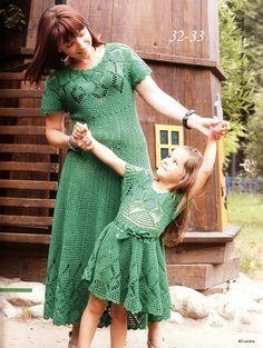 Ivelise Feito à Mão: Vestido Longo em Crochê