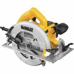DeWALT 7-1/4 in. 15 Amp Lightweight Circular Saw Circular Saw Reviews, Best Circular Saw, Circular Saw Blades, Percussion, Sierra Circular, Steel Shoes, Woodworking Garage, Impact Driver, Banks