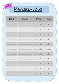Cahier de bord – Cahier de suivi – 2016-2017 | Trousse et Frimousse Gestion Administration, Bullet Journal, Notes, Elsa, Day Planners, Jelsa