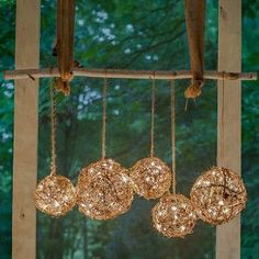 Remarkable Rustic Wedding Chandelier | AllFreeDIYWeddings.com