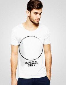 Minimal Only T-shirt T Shirty, Man Fashion, Minimalism, Mens Tops, Shopping, Moda Masculina, Fashion Men, Men's Fashion Styles, Men's Fashion