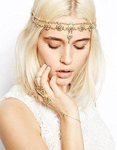 Amazon.com: Hypnotique Antique Game of Throne Inspired Head Band Head Chain: Jewelry