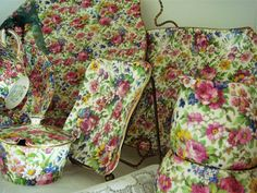"My Mom loved collecting chintz and her favorite pattern was ""Summertime"" by Royal Winton"