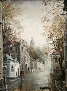 Александр Стародубов - московский художник