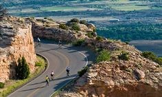 The Inaugural Icon LASIK TOUR OF THE MOON: Hell of the West Cycling Classic /// October 6, 2012 /// Colorado National Monument /// Grand Junction, Colorado