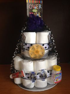 Over The Hill  Adult Diaper Cake  Great by CreationsbyAshleyC, $35.00