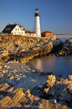 Dawn at Portland Head Lighthouse, Maine, USA. © Brian Jannsen Photography