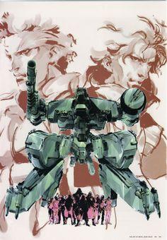 Metal Gear Solid (Twin Snakes) by Yoji Shinkawa