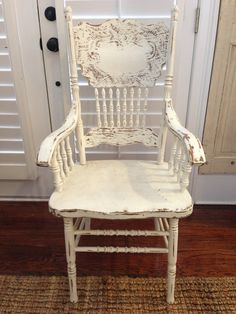 18 Shabby Yet Chic Antique Dining Chairs, Priced Each, Great For Vintage Wedding