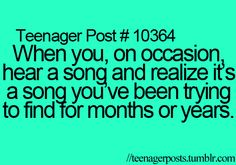 Teenager Posts, all the time