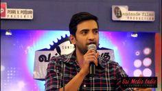 Santhanam speaks at Vallavanukku Pullum Aayudham Press Meet