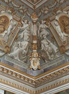 ARCHITECTURE – hall of the estates general, versailles is beautiful and very detailed.