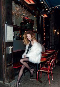 Daria Strokous by Mari Sarai for Harper's Bazaar Russia February 2016