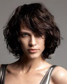 Curly Bob Hairstyle. Para cuando lo dejes crecer