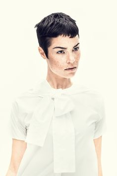 Amber, photographed by Lars Hillen at the Sassoon Intersalon Soiree (2014)