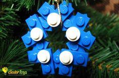LEGO Christmas tree ornament