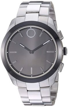 c882916af Movado 'Bold Connected II' Quartz Stainless Steel Casual Watch, Color  Silver-Toned (Model: 3660013)