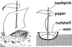 BOAT AND SHIP CRAFTS FOR KIDS: Ideas to make boats & ships with easy arts and crafts decorations, instructions, patterns, and activities for children, preschoolers, and teens