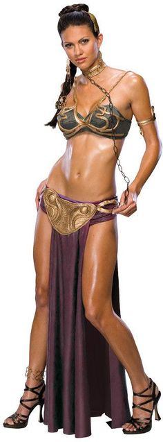princess leia slave women's costume