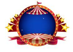 Molduras em png tema circo