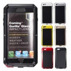 Aluminum Metal Gorilla Waterproof Fingerprint Case For iPhone 6 Plus