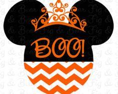 Personalized Minnie Mouse Halloween Girls Shirt Iron by FIGandBEAR