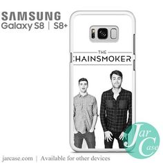 The Chainsmokers 1 Phone Case for Samsung Galaxy Galaxy S8, Samsung Galaxy, Chainsmokers, S8 Plus, Heat Transfer, Phone Cases, Music, Musica, Musik