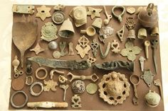 Metal Detecting Finds Collection, Roman, Medieval And Tudor And All Sorts
