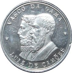 1898 Portugal 400 years Vasco Da Gama arrives in India medal UNC | eBay