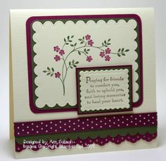 Rich Razzleberry Thoughts and Prayers by bbcrazy - Cards and Paper Crafts at Splitcoaststampers