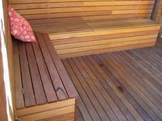 garden storage bench seat - Google Search