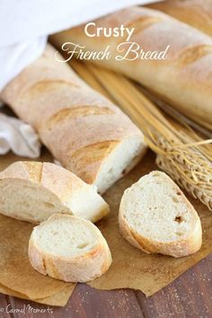 """foodffs: """"Bakery Style Crusty French Bread Really nice recipes. Every hour. Show me what you cooked! Crusty French Bread Recipe, Rustic Italian Bread, Baguette Bread, Table D Hote, Soft Pretzels, Fresh Bread, Sweet Bread, Easy Bread, Recipes"""