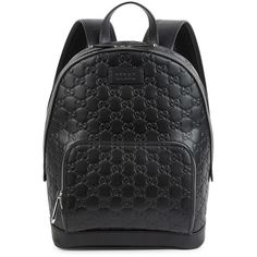 CRU London - Herbert Backpack Black (2.487.935 IDR) ❤ liked on Polyvore  featuring bags, backpacks, leather daypack, leather utility bag, rucksack b… dc2356700a
