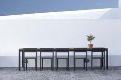 Sleek and stylish retreat on Santorini