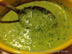 Roka sosu / salatalarda, balıklarda ve makarnalarda sos olarak kullanılabilir..
