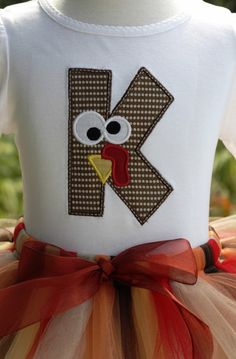 turkey shirt - @Chelsea Conger These would be cute with a T and F