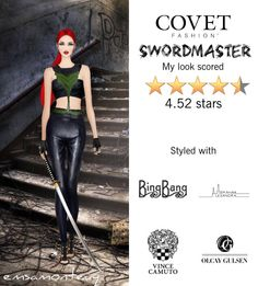 Swordmaster @covetfashion  #covet #covetfashion #fashion #covetspring2015 #spring3015 #womensfashion #swordmaster #vincecamuto #olcaygulsen #majestyblack #alexandraabraham