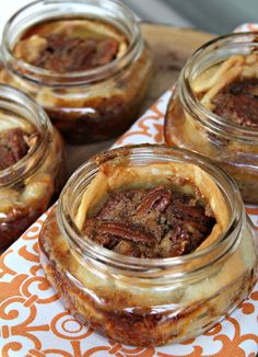For the past couple of months, I have had pecan pie at lunch at three different places. It has gotten me in the mood for fall weather and I wish it was already here! If you were at my place this pa...